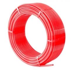 Труба cшит. п/э TIM PE-Xb, диаметр Ø20*2.0(200м) красный