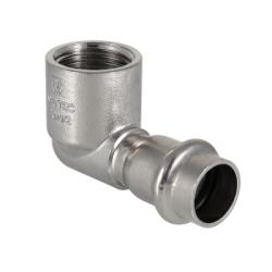 Угольник 90° вн.р. нерж. сталь 15х1/2 Valtec