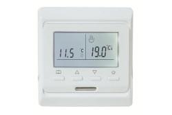 Термостат комнатный TIM M6.716 с датчиком температуры тёплого пола 3м. 220В/16А