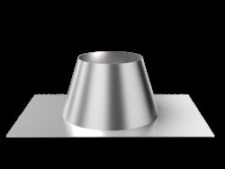 Крышная разделка прямая (430/0,5 мм) ф280 (уп. 5шт)