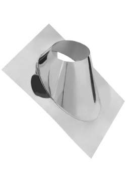 Крышная разделка угловая (430/0,5) ф210 (уп. 5шт)