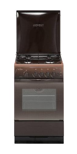 Газовая плита Гефест 3200-06 K19 (brown)