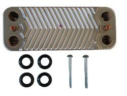 Пластинчатый теплообменник ГВС 12 пластин Viessmann 7825533