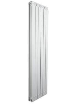 Дизайнерские алюминиевые радиаторы Fondital GARDA DUAL 80 ALETERNUM  1600 (6 сек)