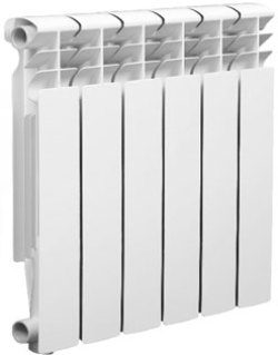 Биметаллический радиатор Оазис 500/80 4 секции
